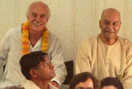 Papaji with Ram Dass
