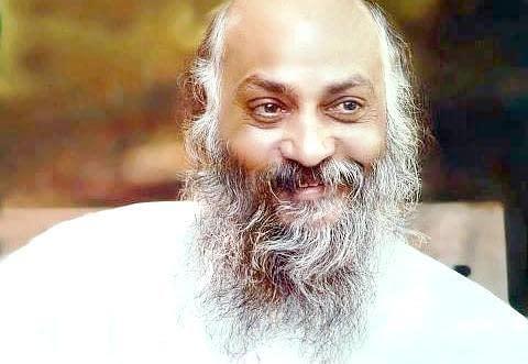 young Rajneesh with short beard
