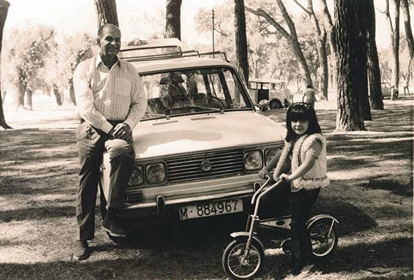 Papaji with Car
