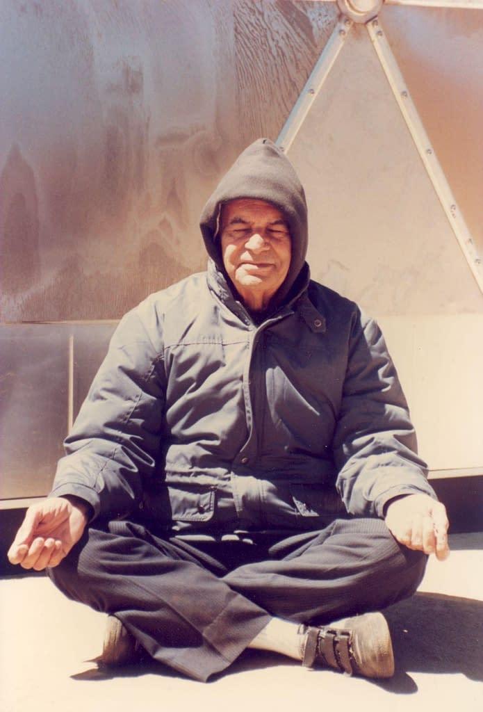 Papaji in Meditation