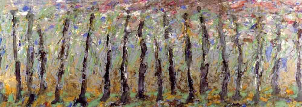 John David´s Gemälde wind dance, Kunst