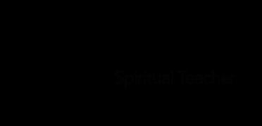 sign black-spiritual teacher