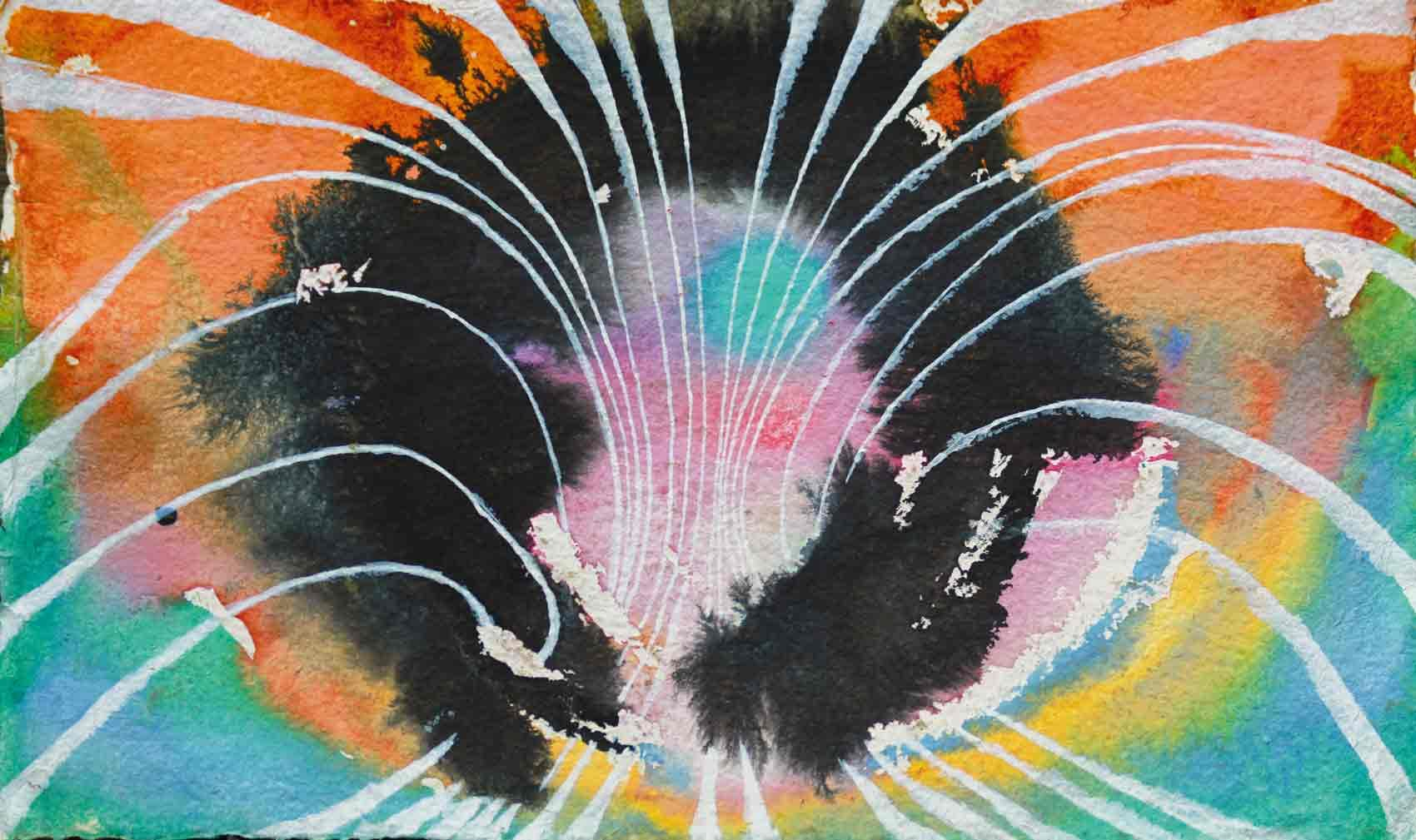 John David´s Gemälde Infinity, Kunst