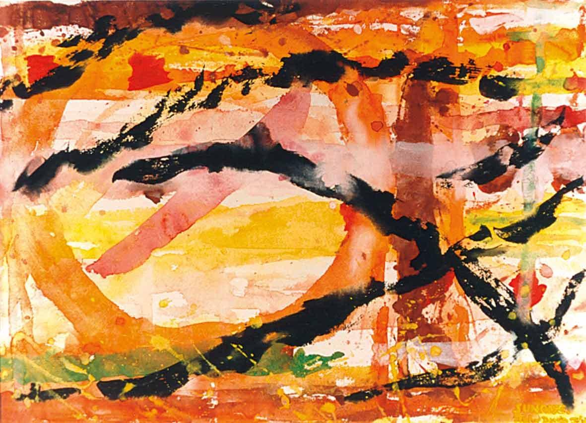 John David´s Gemälde Sunrise, Kunst