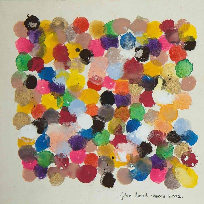 John David´s Gemälde Dots, Kunst